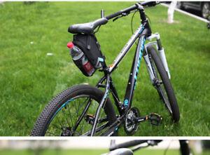 Image Is Loading Black Saddle Bag Mountain Bike Bicycle Seat