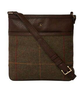 Joules-Uxhall-Tweed-Bag-Brown-Tweed
