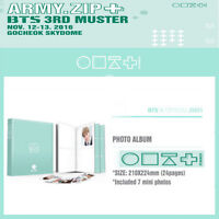 BTS 3RD MUSTER [ARMY.ZIP+] OFFICIAL GOODS [PHOTO ALBUM ] +Tracking Number