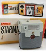 KODAK STARMITE II IN ORIGINAL BOX W/FLASH BULBS, VINTAGE, ART DECO