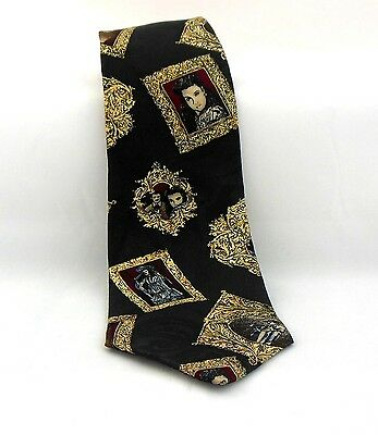 Mens Silk Tie American Film Classic Gone With The Wind Necktie