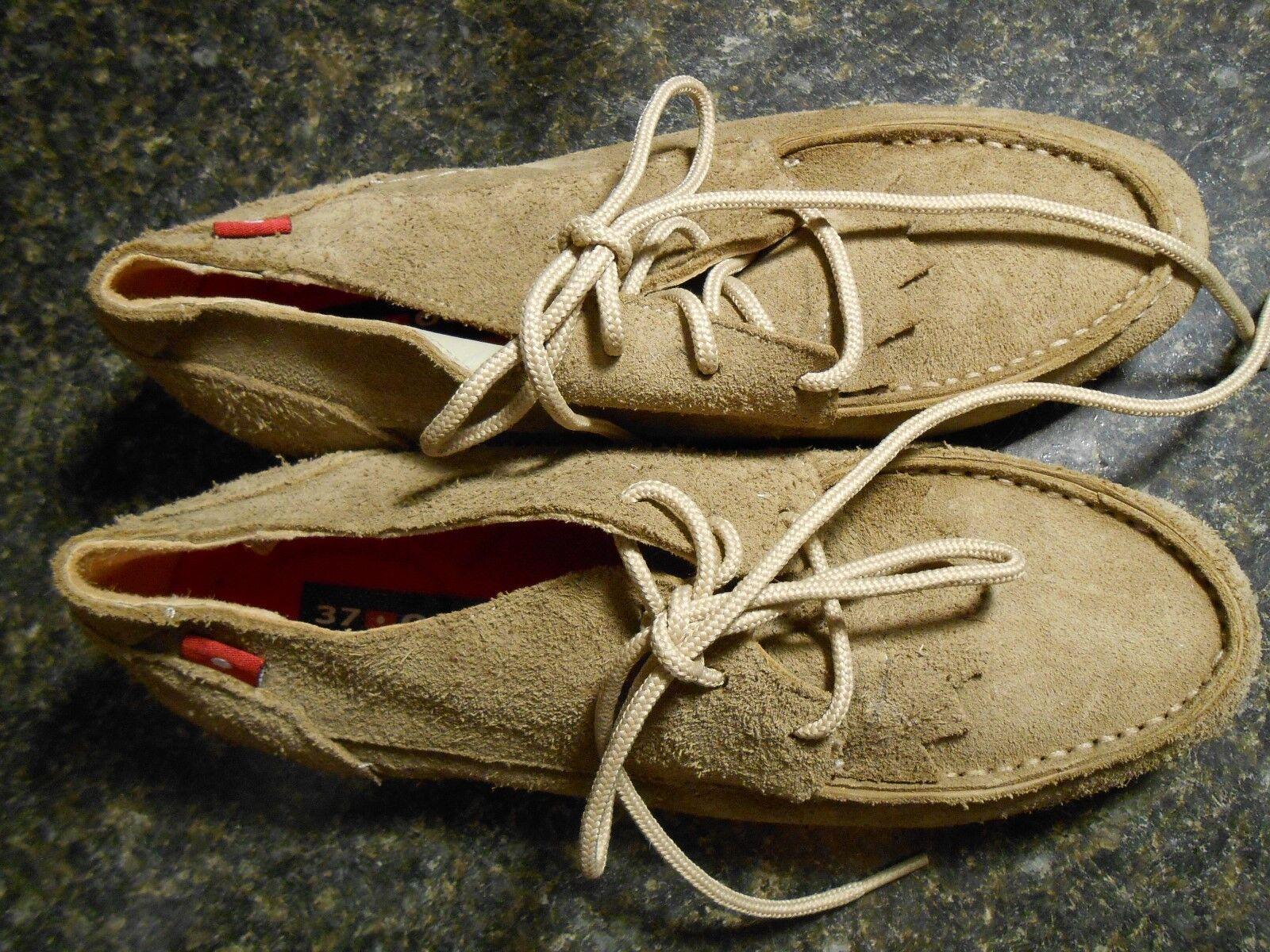 Oliberte tan suede Golia chukka boots display/sample 7M B NEU no box save