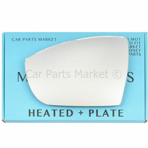 plate Left passenger side Wing door mirror glass for Ford Kuga 2008-2018 heated