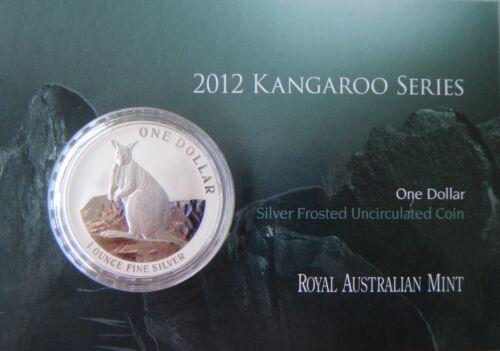 Royal Australian Mint 2012 Australia/'s Silver Kangaroo $1 1oz Frosted UNC Coin