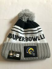 item 2 Los Angeles Rams New Era Heather Gray Super Bowl LIII Bound Striped  Knit Hat -Los Angeles Rams New Era Heather Gray Super Bowl LIII Bound  Striped ... db127a539