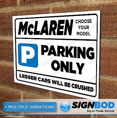 F1 McLaren Racing PVC Banner Garage Workshop Car Sign BANPN00157