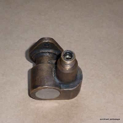 Smiths Cast Brass Tachometer Drive 1-1 BSA B34 500 650 A10 as BG1508//04 BLACK