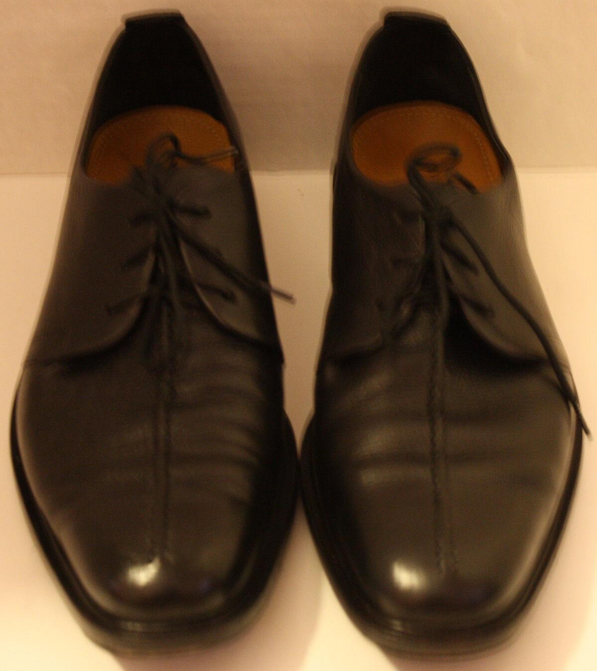 Para Hombre Cole Haan Zapatos De Cuero Negro m