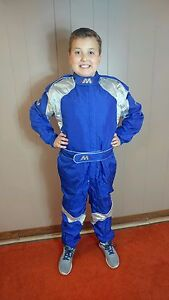 Go Kart MIR Racing Suits Black//Silver Multiple Sizes Adult//Kid CIK Homologated