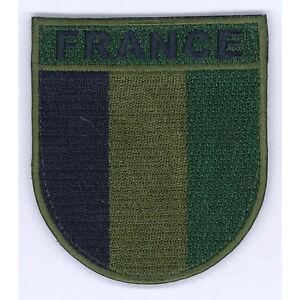 Verzamelingen LOT DE 10 ECUSSONS DE BRAS FRANCE BV BASSE VISIBILITE PATCH SCRATCH ARMEE OPEX