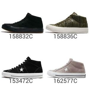Converse One Star Mid Suede Nubuck Leather Men Shoes Sneakers Pick 1 ... 23cd7811e