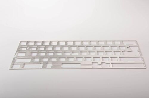Aluminium 60/% Plate Universal ANSI/&ISO Frame Keyboard GH60 multi colors