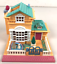 MATTEL-Bluebird-Polly-Pocket-1994-POLLYVILLE-LIGHT-UP-HOTEL-COMPLET miniature 1
