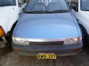 1991-Daihatsu-Charade-G100-Bonnet-S-N-V6679-BF9045