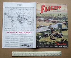1956-034-Flight-034-Magazine-Blackburn-Beverley-Cover-Bristol-Orion-Engine-Cut-away