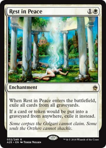 RIPOSA IN PACE REST IN PEACE Magic A25 Mint