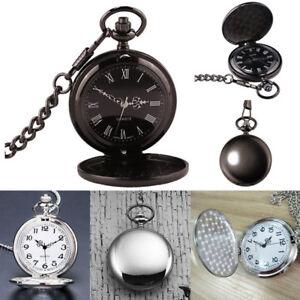 Victorian-1920s-Steampunk-Pocket-Watch-Fancy-Dress-Costume-Quartz-Watch-Mens-Boy