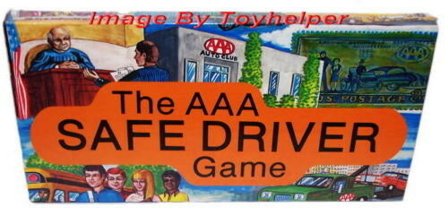 The AAA Safe Driver Board Game 1st Edition 1980 NIB Sealed