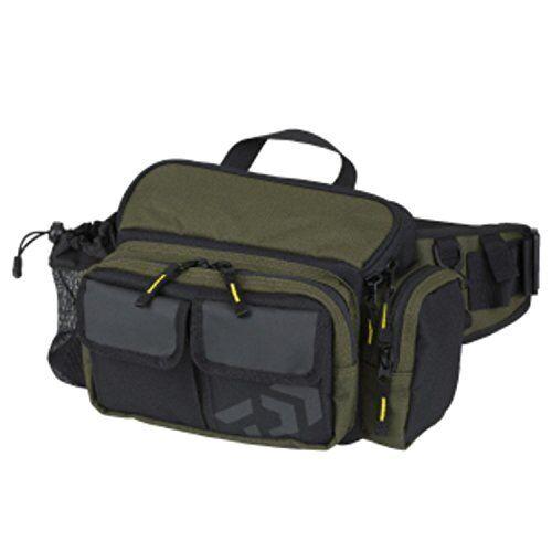 Daiwa Tackle Bag Hip Bag LT C Olive Japan