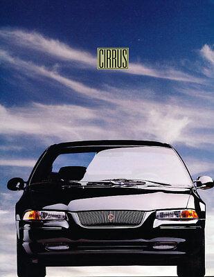 1995 Chrysler Cirrus Intro Sales Brochure