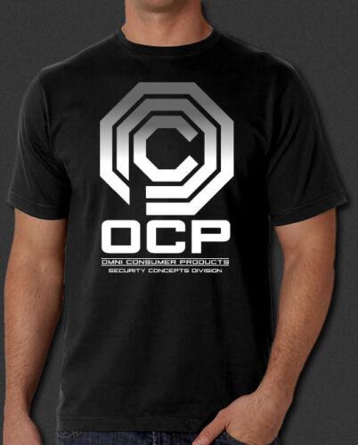 OCP RoboCop sci-fi Movie Omni Consumer Products New T-Shirt S-6XL