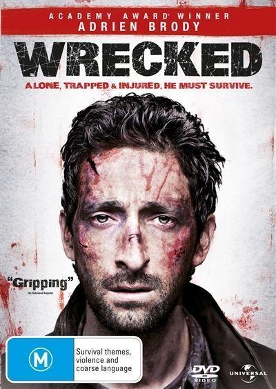 Wrecked DVD Adrien Brody Movie REGION 4 AUSTRALIA