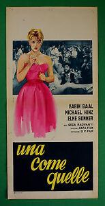 L25 Plakat Ein Wie Quelle Karin Baal Hinz Michael Elke Sommer Geza Radvanyi