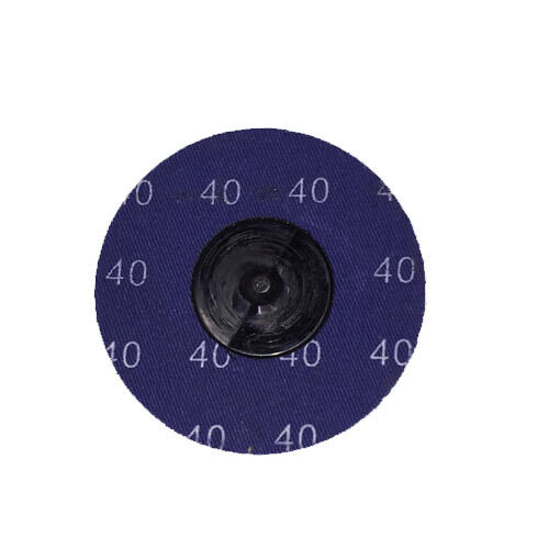 "50-3/"" Roloc A//O Quick Change Sanding Disc 40 Grit"