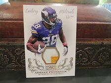 National Treasures Century Materials Jersey Vikings Adrian Peterson 12/25  2013