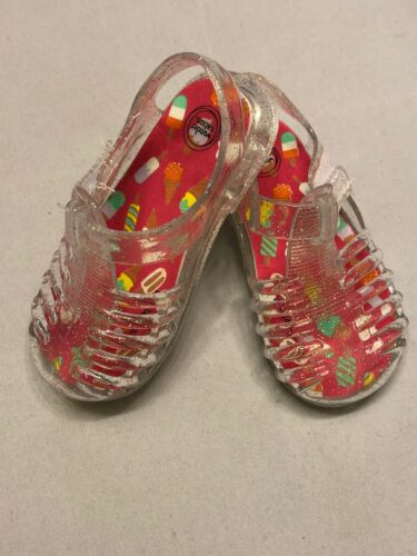 Baby Girls Sandals Clear Jelly Prewalk Shoes