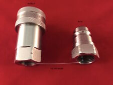 4 Sets12 Npt Iso 7241 1 A Coupling Hydraulic Quick Disconnect Sms 08 Afam