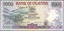 TWN - UGANDA 40a - 5000 Shillings 2000 UNC Prefix CV