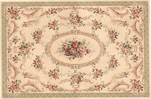 "1:12 Scale Dollhouse Area Rug 0002058 approximately 5/"" x 7-1//2/"""