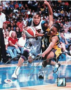 Dawn-Staley-Signed-8x10-photo-WNBA-PSA-DNA-Autographed-Sting