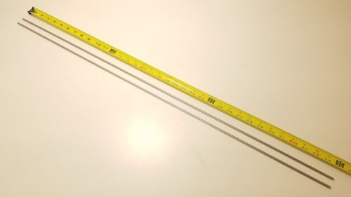 "rods 304 Stainless Steel 3//16/"" Round 36/"" long bars 2 pack"