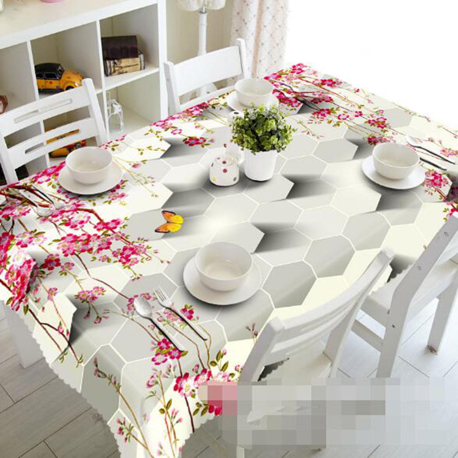 3D Squid Petal 223 Tablecloth Table Cover Cloth Birthday Party Event AJ Lemon