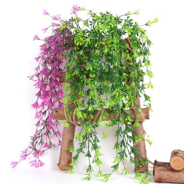Artificial Fake Hanging Flower Vine Plant Wedding Indoor Outdoor Garden Decor 8