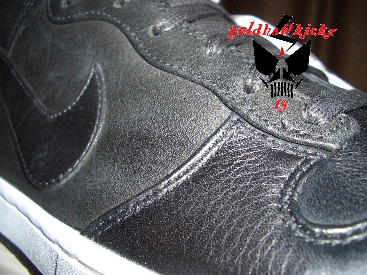 detailed look 0414a ee9c8 ... NIKELAB Nike Dunk Dunk Dunk Lux SP leather Black 718790-001 Lunarlon QS  limited d6cd06 ...