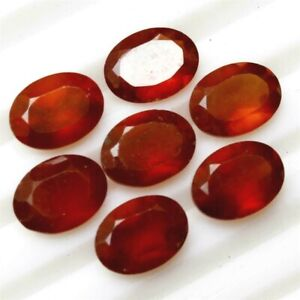 Wholesale-Lot-10x8mm-11x9mm-Oval-Natural-Hessonite-Garnet-Loose-Calibrated-Gems