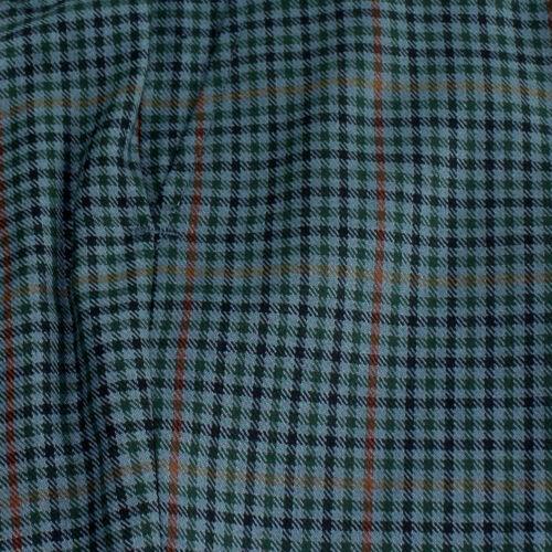 Relco Mens Rester Presse Bleu Tweed Pantalon Sta Prest Mode Rétro Peau Ska Vtg