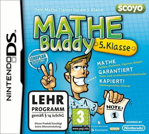 1 von 1 - Mathe Buddy 5. Klasse scoyo OHNE ANLEITUNG für Nintendo DS lite DSi XL 3DS 2DS