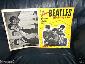 THE-BEATLES-OFFICIAL-1963-FIRST-SHEET-MUSIC-SONG-BOOK-LYRICS-AND-MUSICAL-NOTES