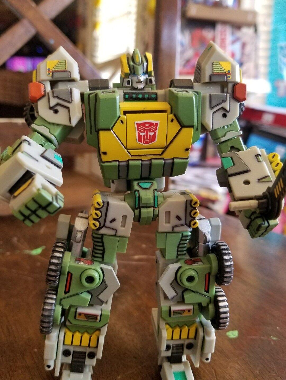 ventas en linea Transformers FANSPROJECT WB001    Warbot Defender cambiador triple Personalizado  calidad fantástica