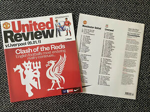Manchester-United-v-Liverpool-FA-Cup-2011-Programme-9-1-11-FREE-UK-POSTAGE