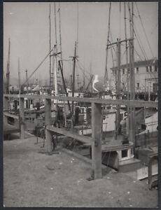 Respectueux Yz1844 New York City 1950 - Scorcio Pittoresco - Fotografia D'epoca