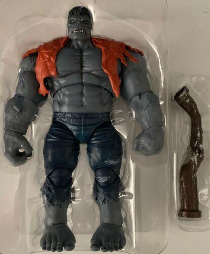 "No Box FIGURE GREY HULK RETRO EXCLUSIVE Marvel Legend HASBRO 2019 9/"" Inch"