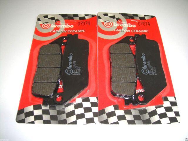 4 Pastillas de Freno Delantero Brembo 07074 Kymco Xciting 250 2005