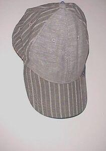 68f0a7b99f73a Ben Sherman Since 1963 Men s Two Tone Gray Striped Baseball Cap One ...