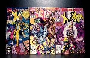 COMICS-Marvel-Uncanny-X-Men-270-272-1990s-RARE-wolverine