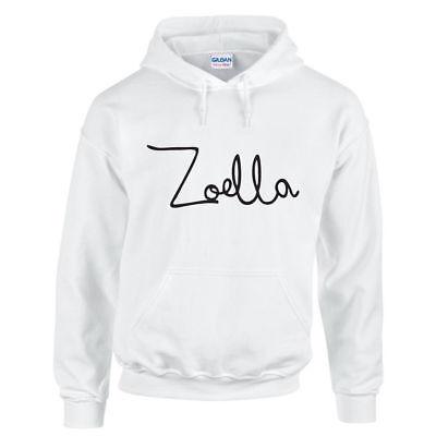 Herrlich Zoella Hoodie Adults Childrens Hoodie Youtuber